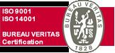 Certificaciones de calidad ISO 9001:2000 y Medio ambiente 14001:2004