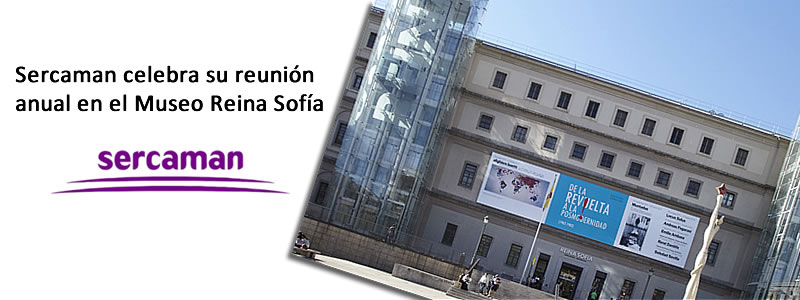 Sercaman celebra su reunion anual en el Museo Reina Sofía