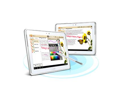 Samsung School - Compartir pantalla