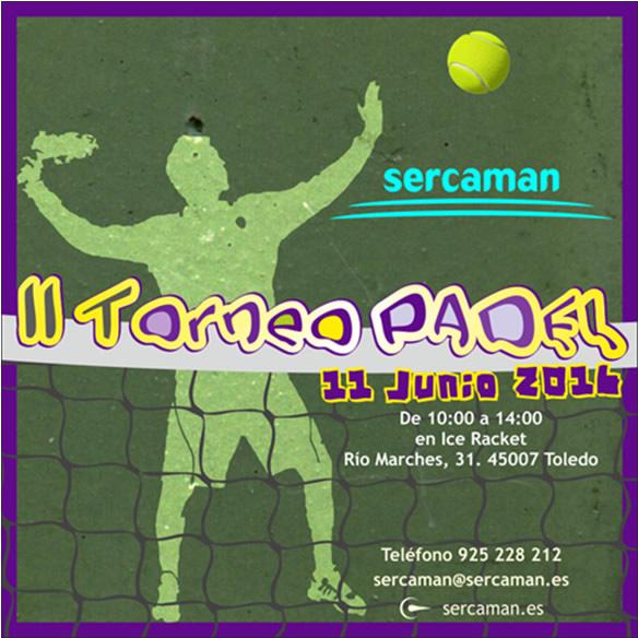 II Torneo de Padel - Sercaman 2016