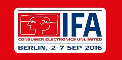 IFA 2016 - 2-7 Septiembre 2016