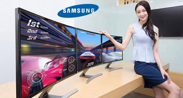Monitores curvos gaming de Samsung