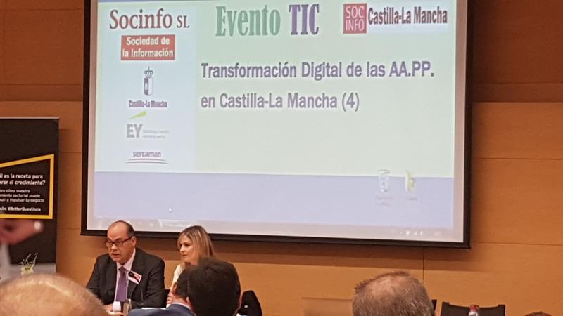 Apertura evento a cargo de Dª Elena de la Cruz Martín Consejera de Fomento. Junta de Comunidades de Castilla-La Mancha.
