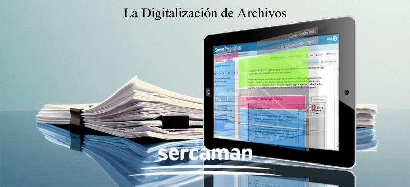 La Digitalización de Archivos