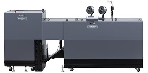 La Duplo DBM 350 y la Duplo DBM 600 son dos encuadernadoras robustas, diseñadas para una producción intensiva