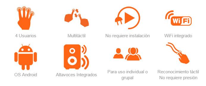 Mesa Interactiva Infantil MultiClass
