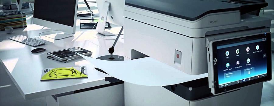 Fotocopiadora multifuncional RICOH mp 305spf