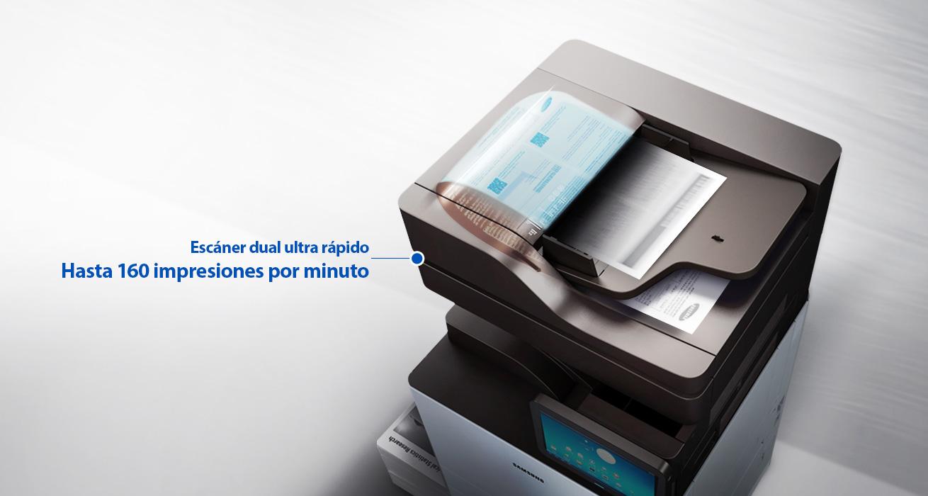 Escáner dual más rápido