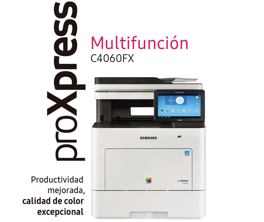 Impresora Samsung A4 ProXpress C4060 FR