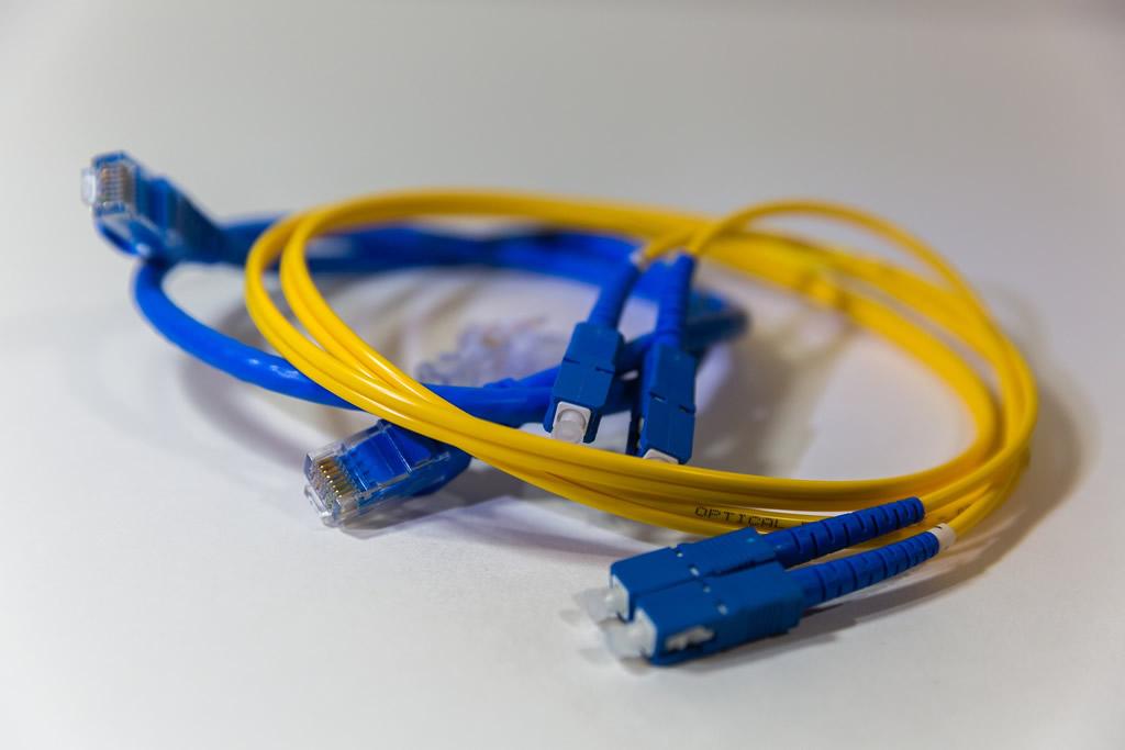 Instalación de cableado de fibra óptica
