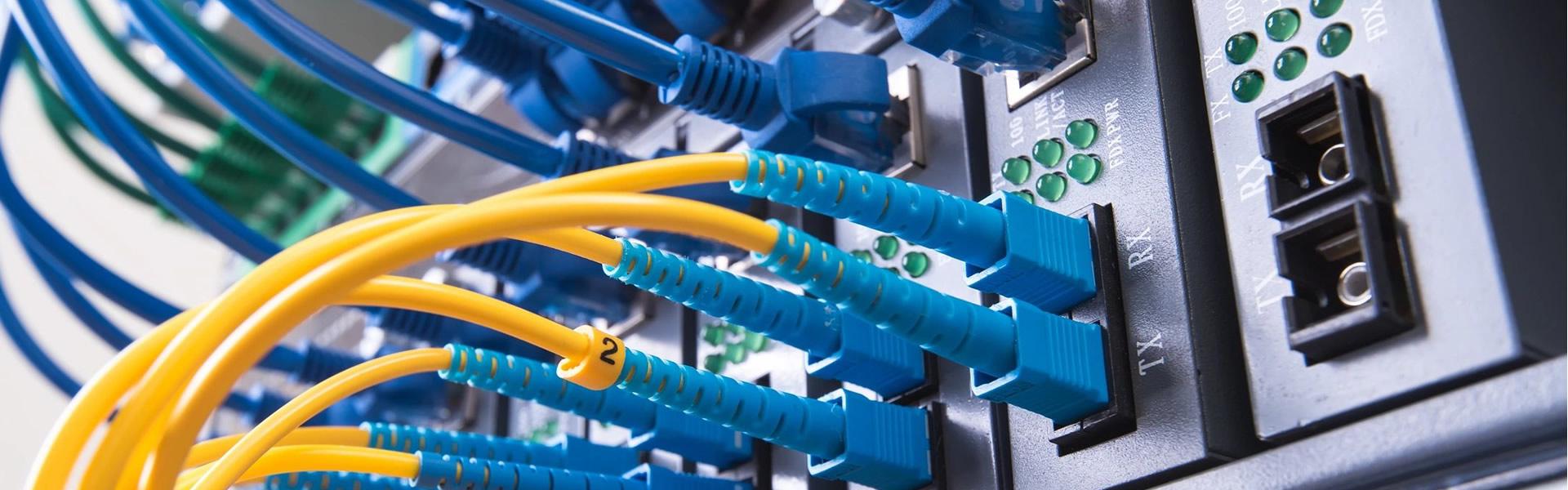 Redes de datos e Instalaciones de cableado estructurado voz-datos y fibra