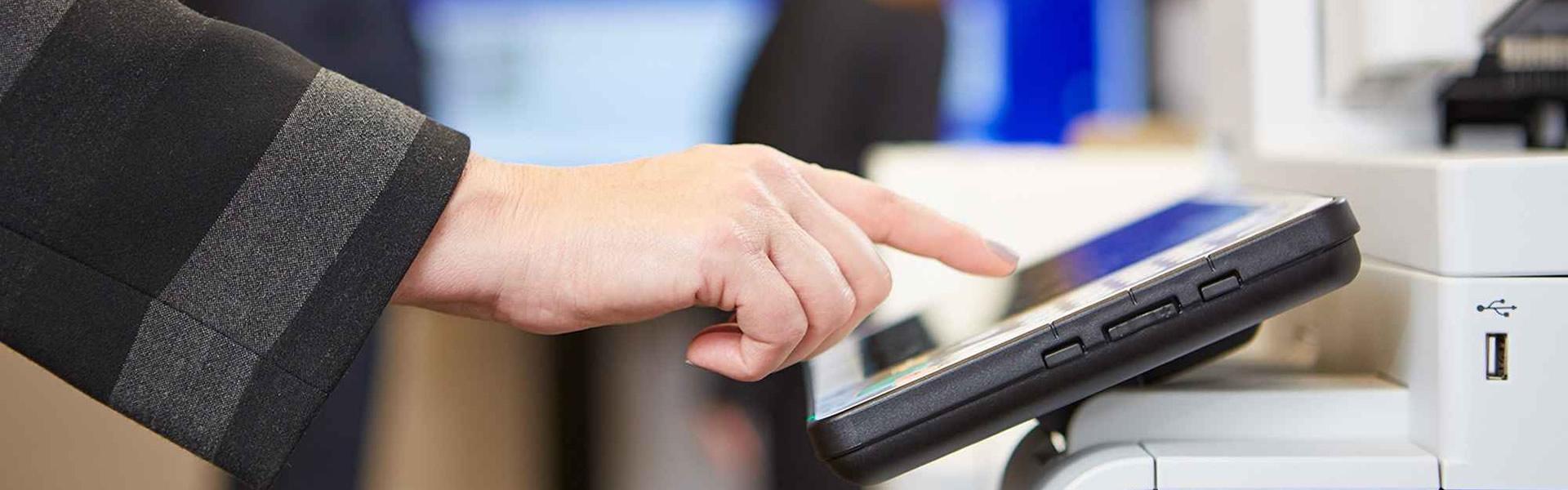 Control absoluto en impresión, copiado, escaneado y fax